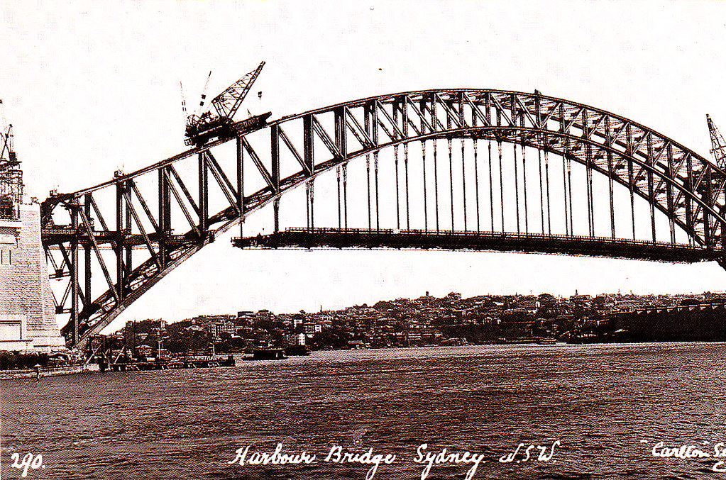 10# Sydney Harbour Bridge.