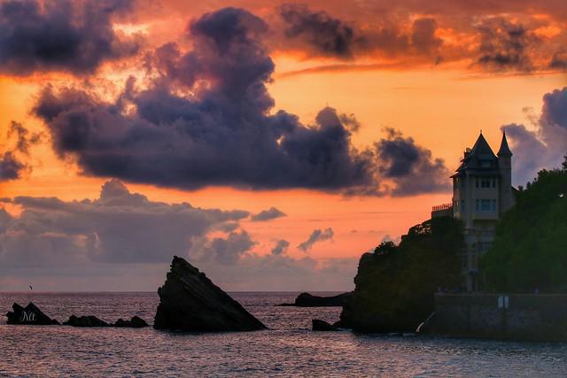 27 Juillet, Côte des Basques, Biarritz