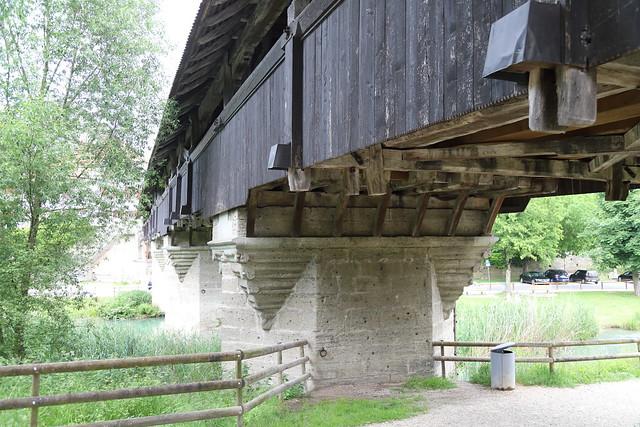 Holzbrücke in Aarberg BE 12.6.2021 1310