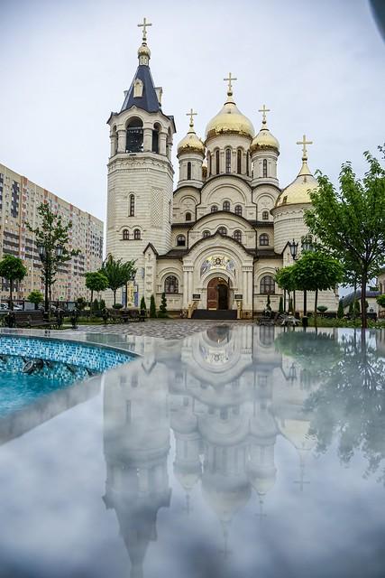 27 июля 2021, В канун дня памяти равноапостольного князя Владимира митрополит Кирилл совершил всенощное бдение во Владимирском соборе