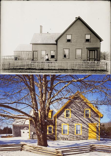 Our Maine Farmhouse... 1898 & Current | Tenants Harbor Maine