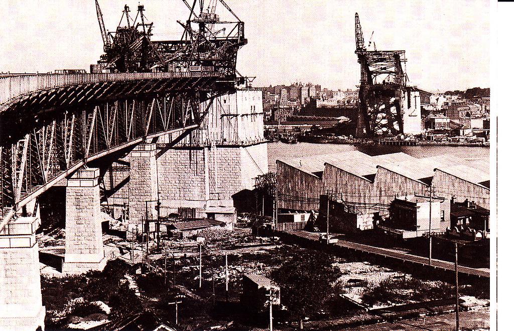 6# Sydney Harbour Bridge.