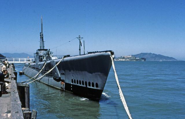 Submarine, Fisherman's wharf,  San Francisco,  July 27, 1984