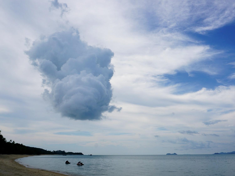 Koh Samui clouds