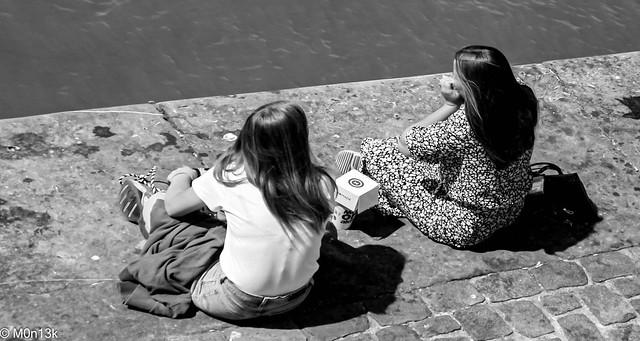 One summer day in Antwerp