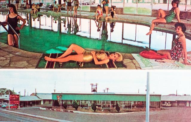 Motel Postcards, Pools