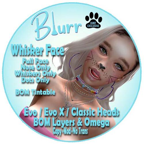 Blurr Ad Whisker Face DDOS HUNT #4