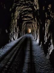 Luz al final del túnel.