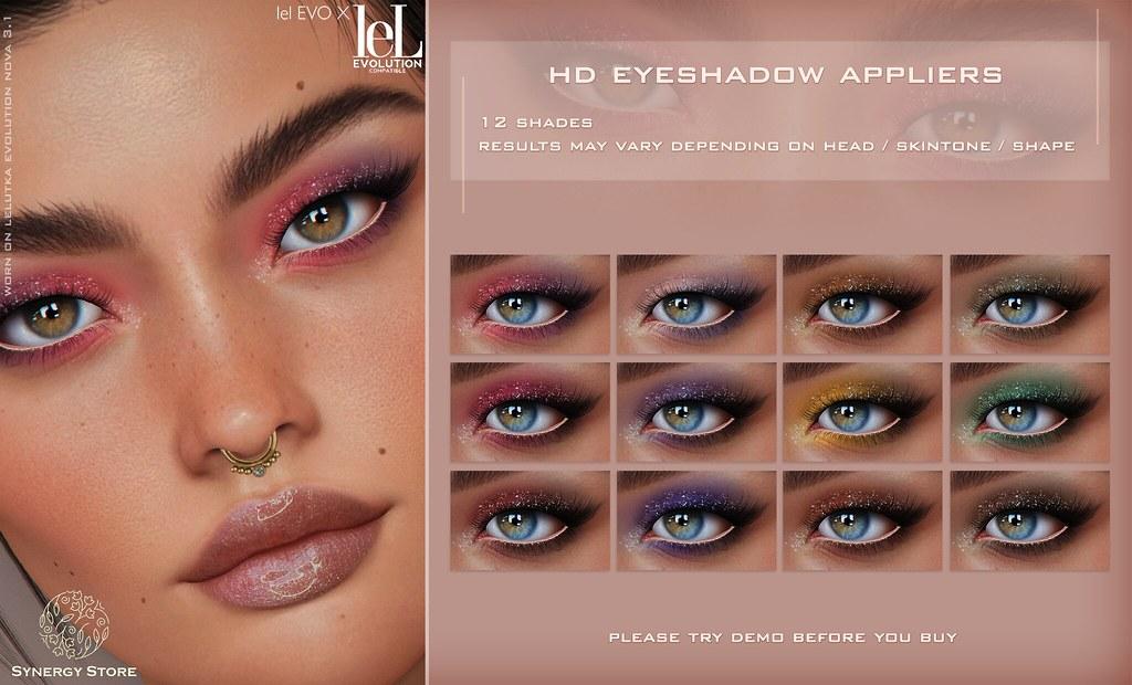 Synergy – Lelutka HD Eyeshadow Applier for EVO/EVO X heads – Bilbao♥