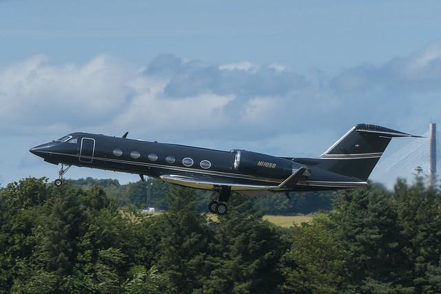 HI1050 Gulfstream IVSP EGPH 17-07-21