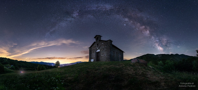 The church under the stars