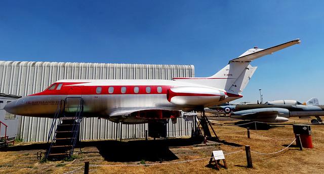 Hawker Siddeley HS125 1 G-ARYB EGBE 05072018