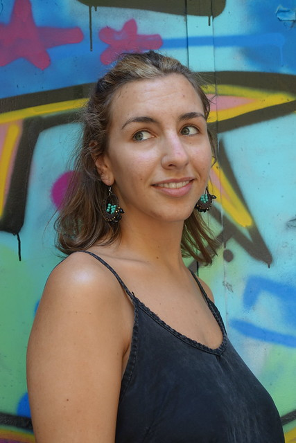 Maria, catalana. Captura: carrer Calàbria, Barcelona.