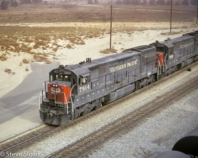 SP U30C 7914 in West Colton