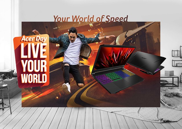 Acer Nitro for Acer Day 2021 'Live Your World'