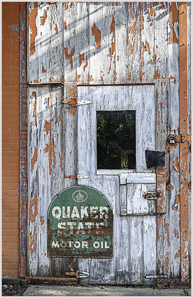 Antique Store Door