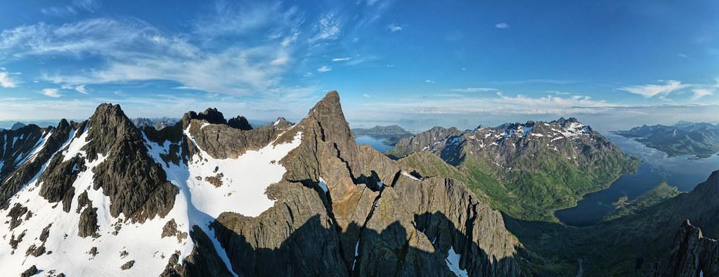 Geitgallien peak, Lofoten 2021