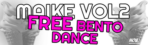 """FREE GIRLS Dance from """"MAIKE VOL2"""" OUT @ MOVE!"""