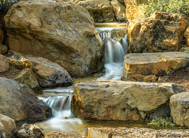 Flowing Through the Rocks