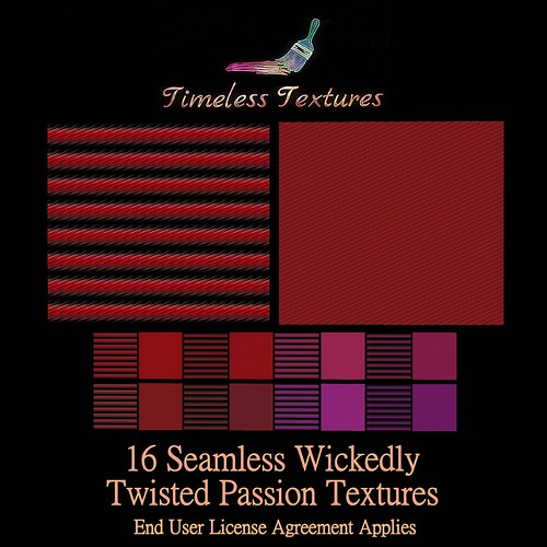 TT 16 Seamless Wickedly Twisted Passion Timeless Textures