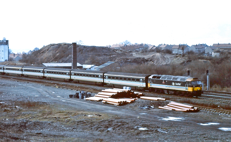Scotrail Class 47/7.