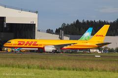 DHL B757 D-ALER