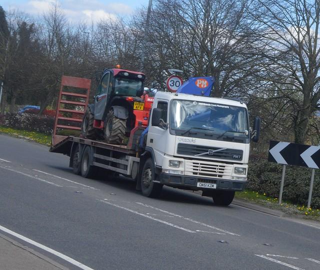 Robert Davies Machinery CN51 KZM At Welshpool