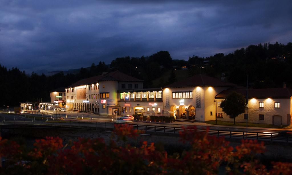 Abendstimmung über Berchtesgaden