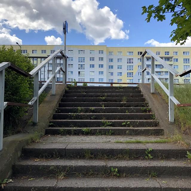 ...heute mal ne Runde zum Block / hoch zur Prenzlauer Promenade vom P+R Pankow-Heinersdorf