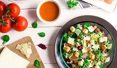 Viajar por el mundo con recetas de ensaladas
