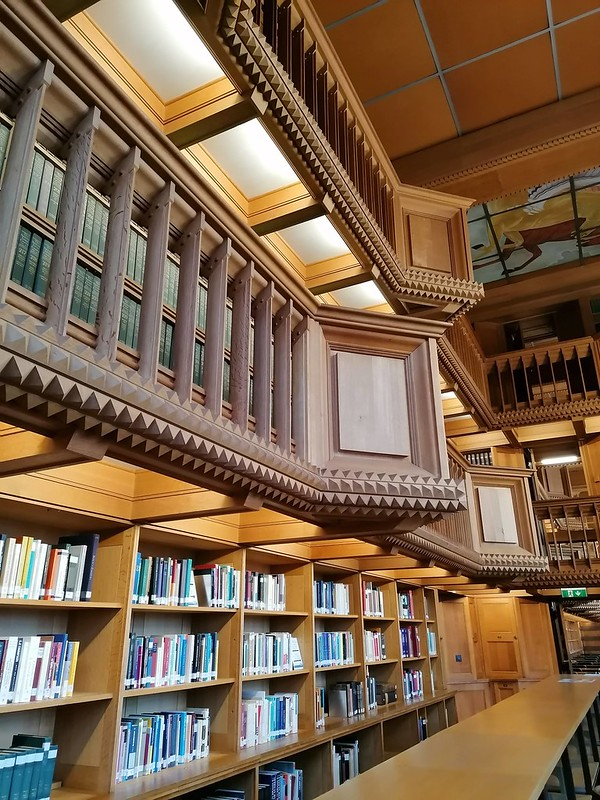 Interior Biblioteca de Lovaina