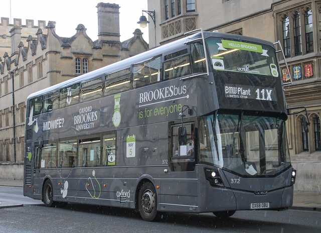 Oxford Bus Company 372 - OX68 OBU (11X Oxford, High Street) 27-07-2021 (2)