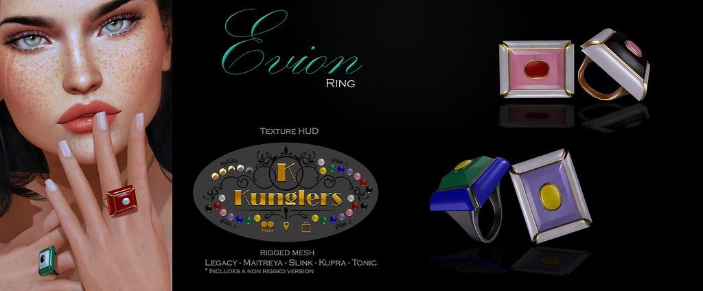 KUNGLERS – Evion rings