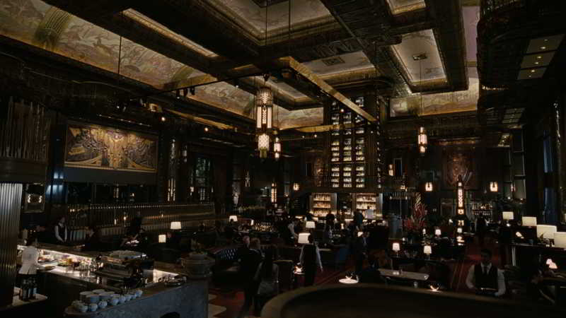 Atlas Bar Restaurant lounge