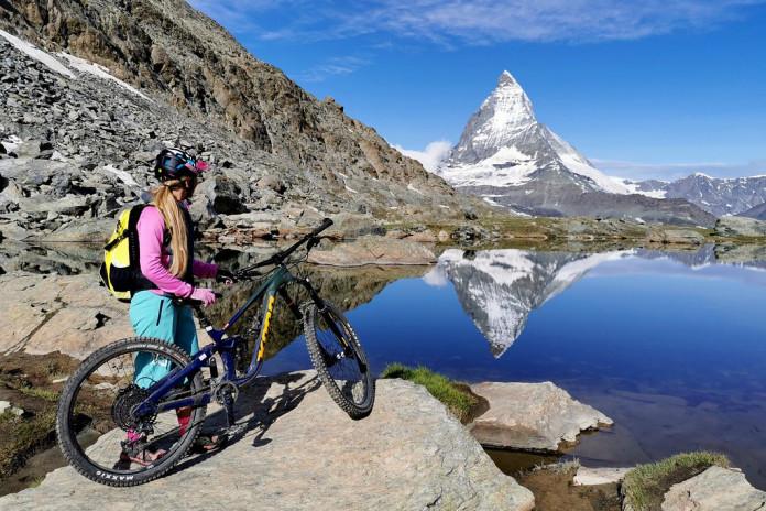 Tipy Bike SNOW tour 2021: Zermatt - traily pod Matterhornem