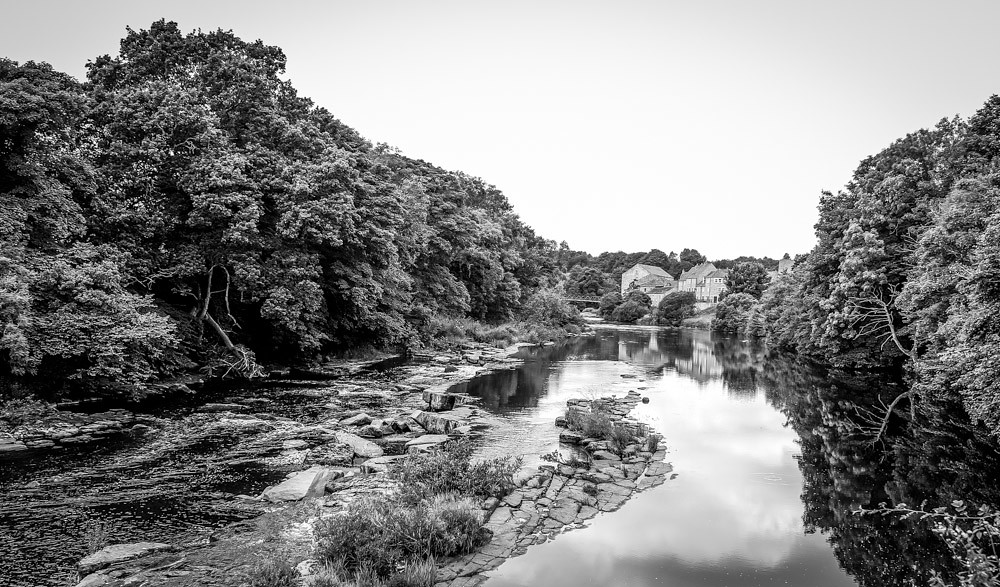 The River Tees .