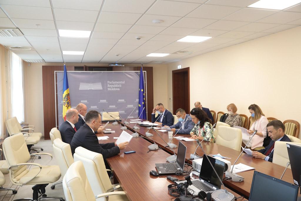 29.07.2021 Ședința Comisiei speciale pentru alegerea Președintelui Parlamentului Republicii Moldova