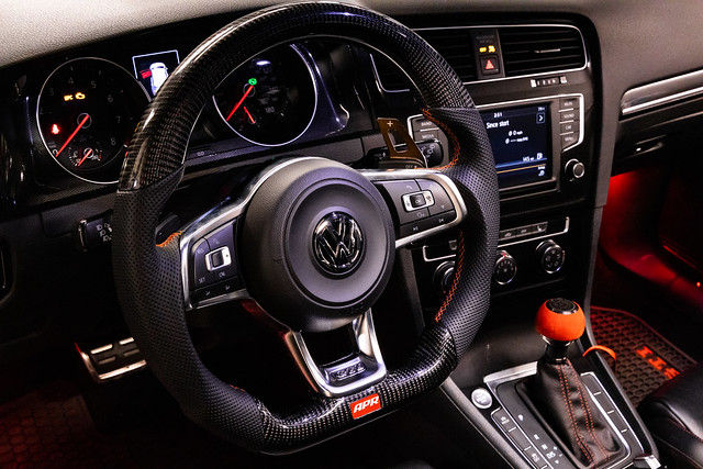 APR Carbon Fiber Steering Wheel