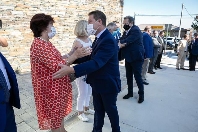 Inauguración del Centro de Salud de Alcolea del Pinar