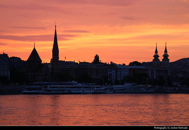 Sunset, Budapest, Hungary