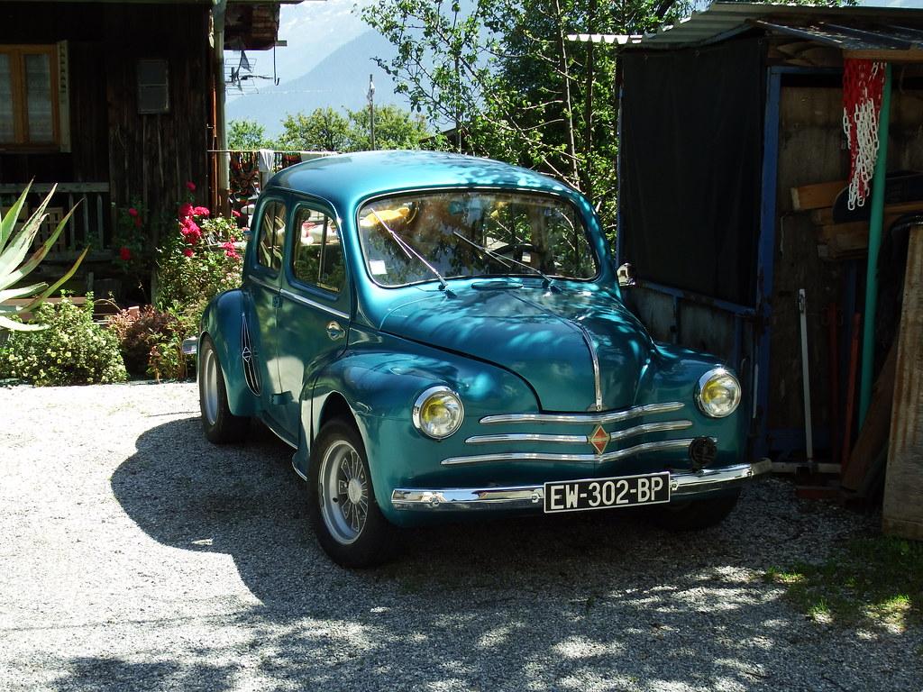 Renault 4CV Combloux (74 Haute-Savoie) 18-07-21a