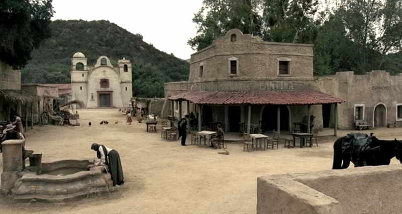 Las Mudas town