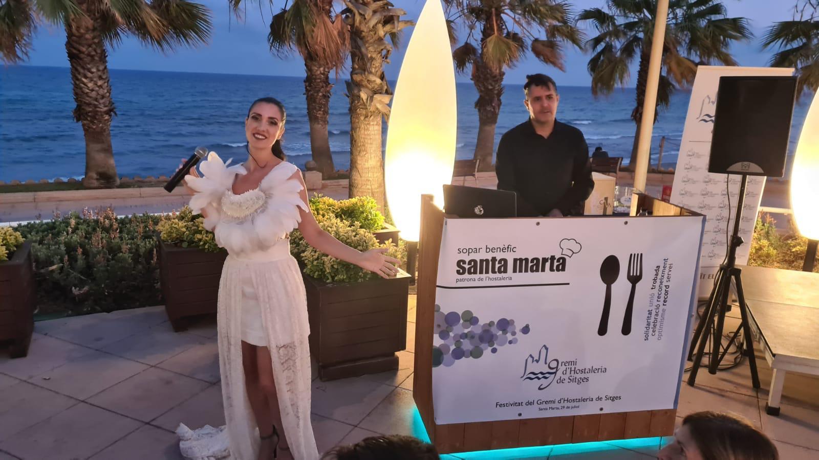 Sopar Benpefic Santa Marta Sitges 2021