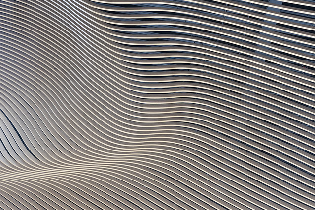 Interplay of lines on a ceiling