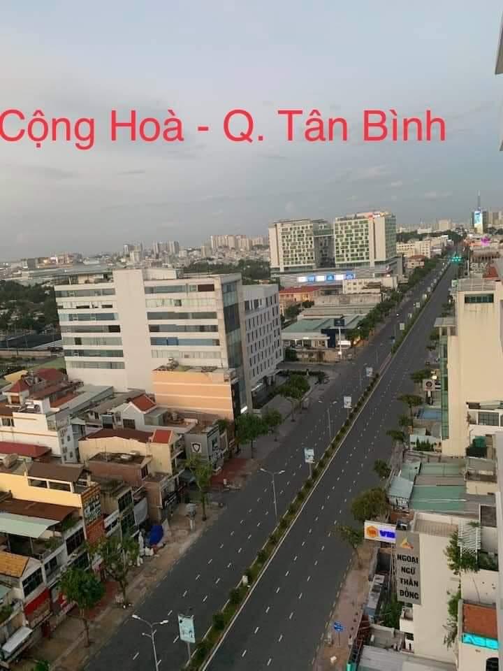 Saigon under lockdown--Tan Binh District