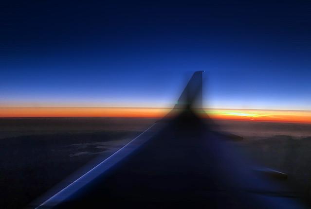 Flying-Sunset