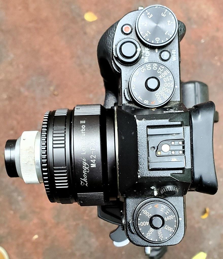 Fujifilm X-T1: Meopta Belar f4.5 50mm