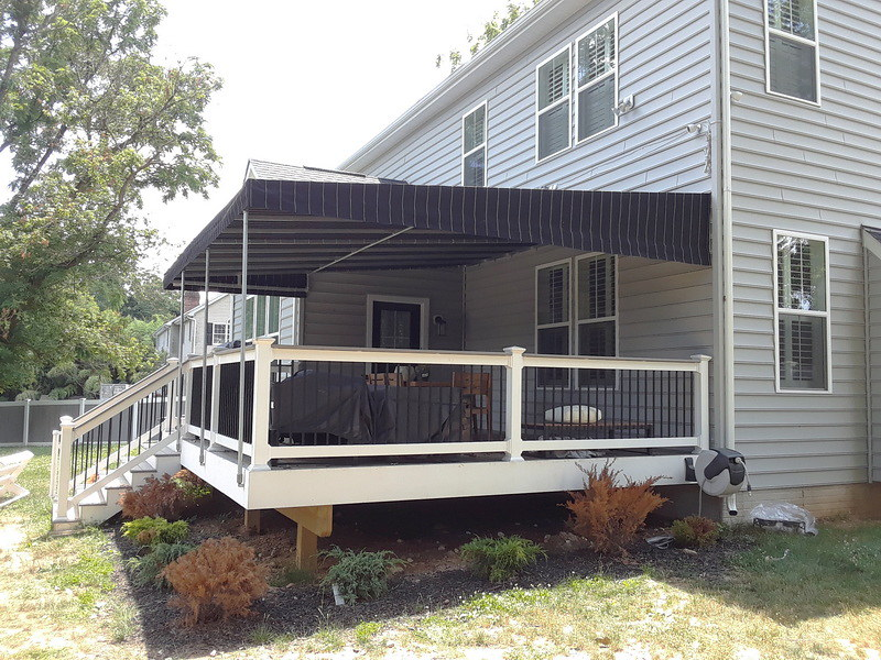 Awning for Deck-Hoffman Awning