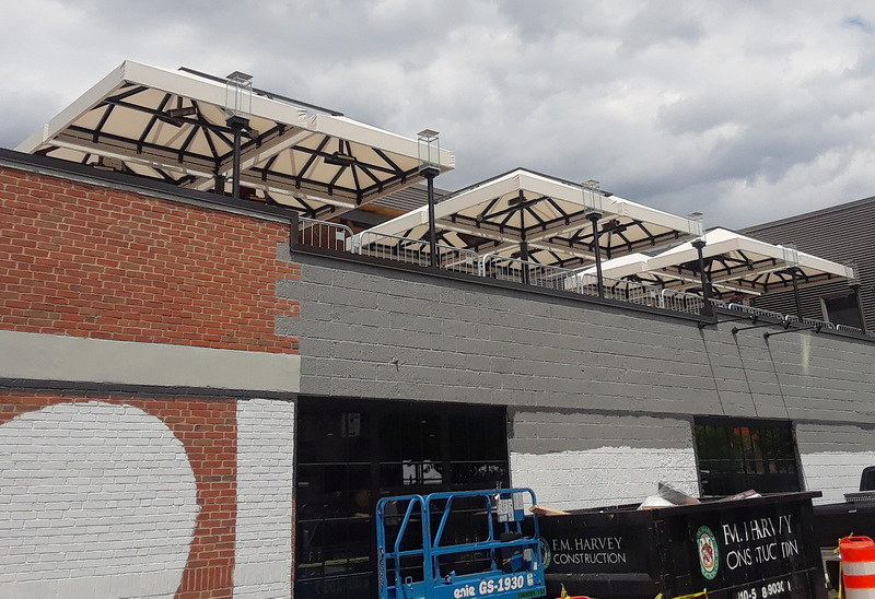 Commercial Awning Rooftop