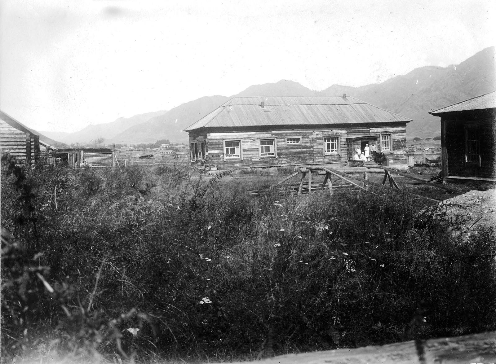 Больничный корпус села Онгудай